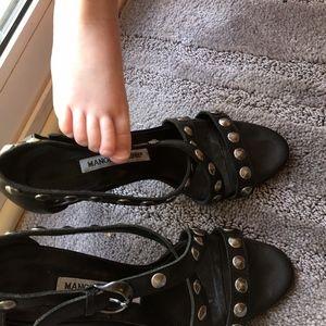 Manolo Blahnik studded high heels